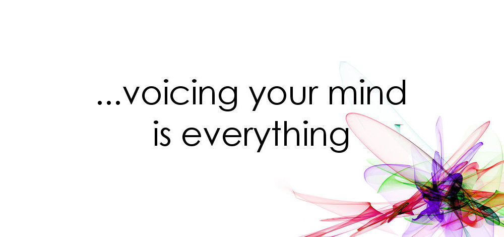Voicing your mind in a counselling session is everything